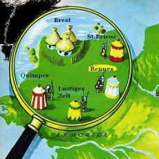 Asterix Dorf Bretagne