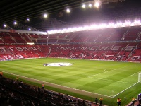 Das New Old Trafford in Manchester - Kombination von Tradition und Moderne.