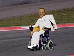 Michael Schumacher Rollstuhl